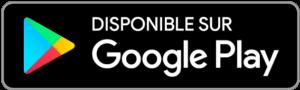 Disponible sur Google Play Store