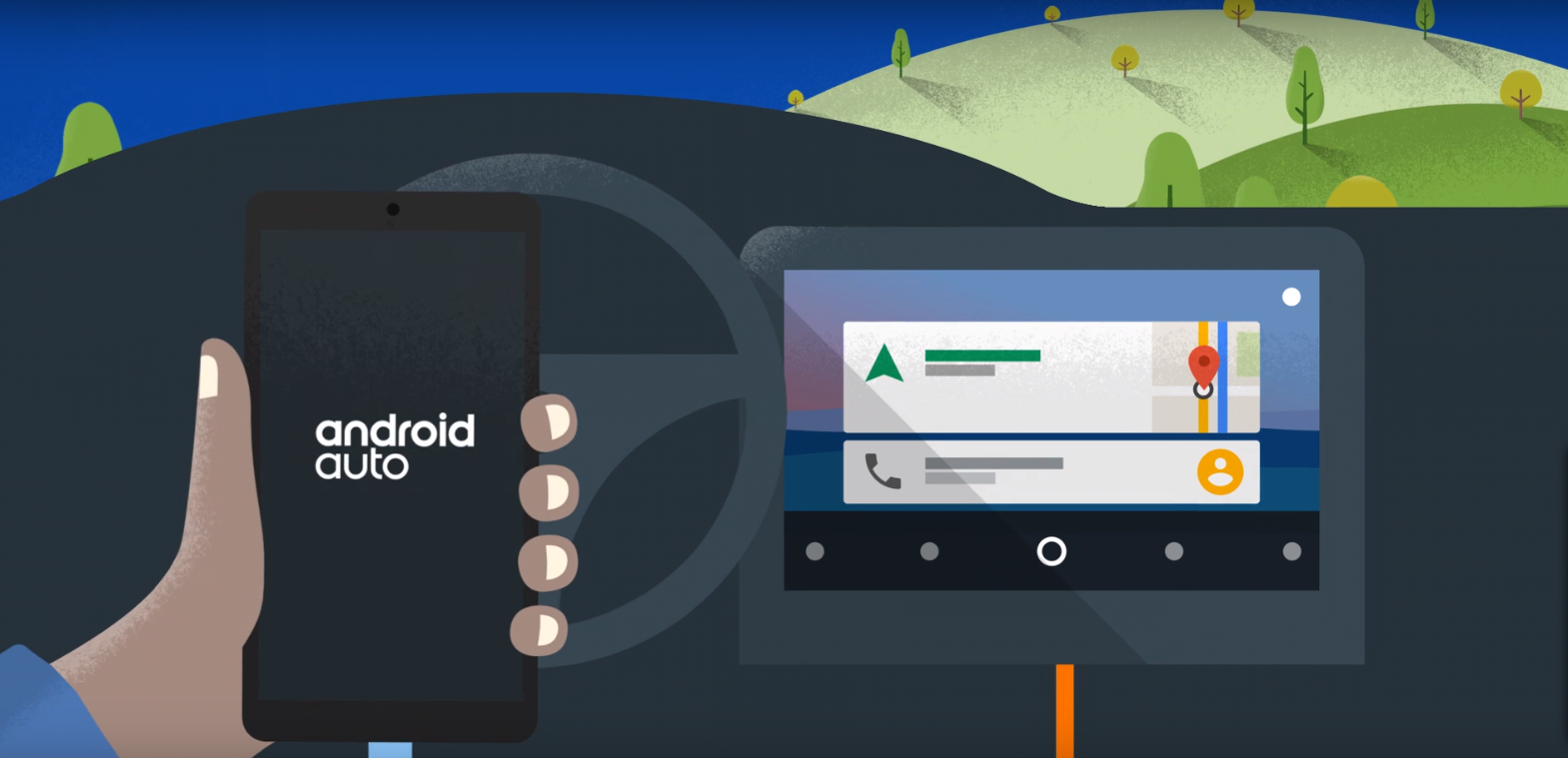 Android Auto On board
