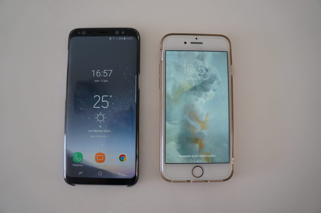 Galaxy S8 & iPhone 7