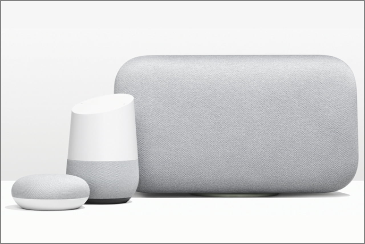 Gamme Google Home