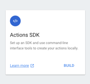 Actions SDK