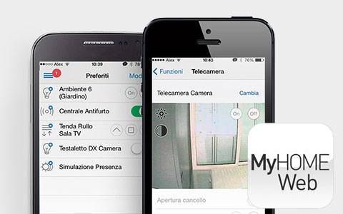 Application MyHome web