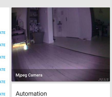 Caméra de surveillance en mode nuit