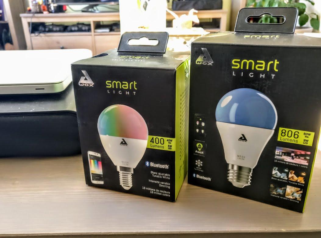 Smartlight Ampoule Connectée Bluetooth Mesh E27 9W