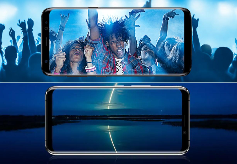 Samsung Galaxy S8 VS Leagoo S8 Pro