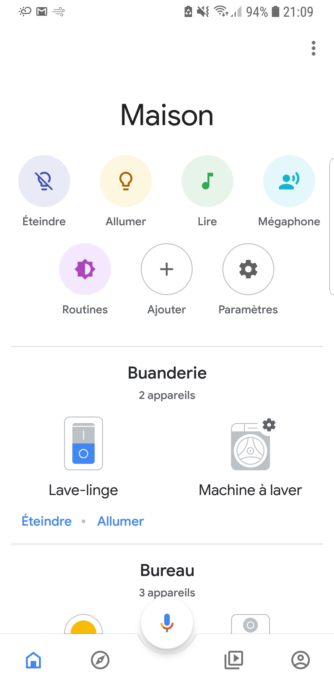 Page-accueil-application-google-home