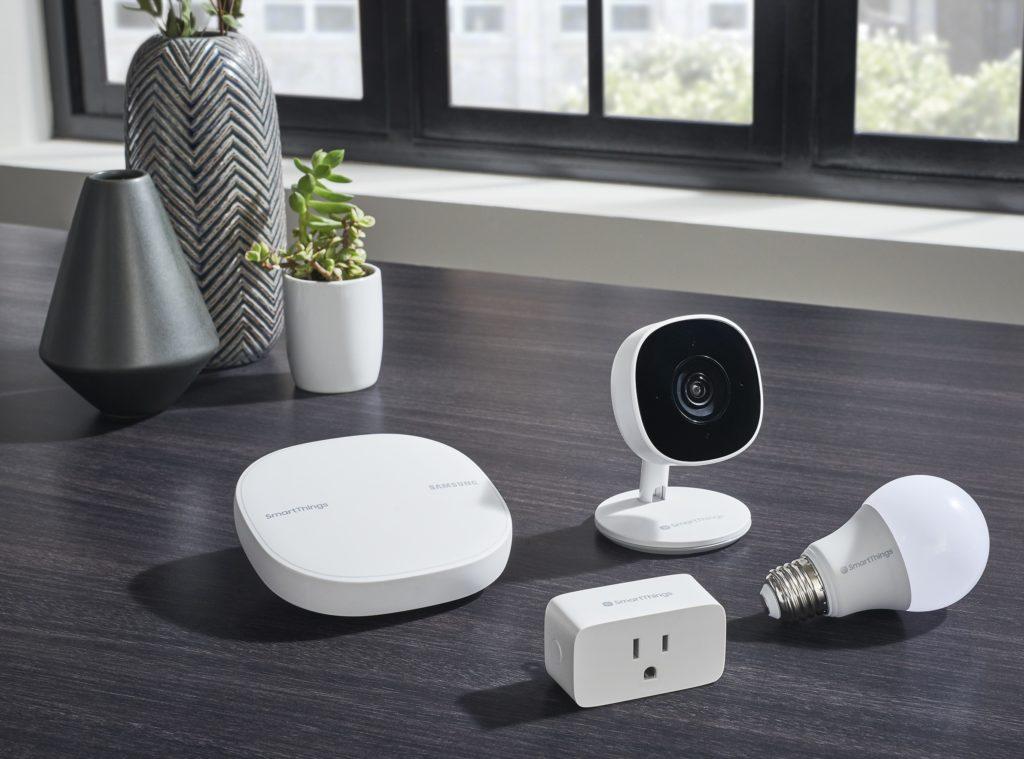 La nouvelle gamme de produits Samsung SmartThings